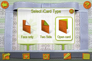 Select from any one of 3 card types.
