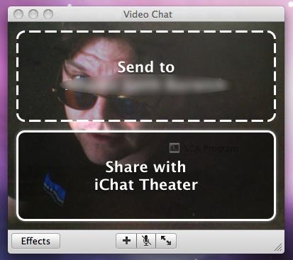 Mac OS X iChat